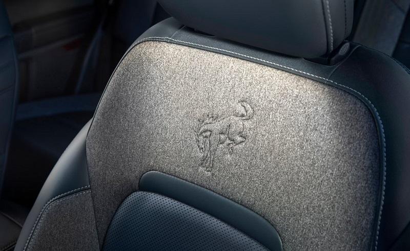 Ford Bronco 2021 với thiết kế logo của hàng ghế