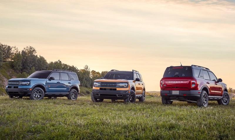 Ford Bronco 2021 với nhiều phiên bản