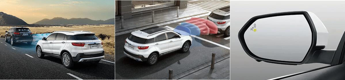 Hệ thống an toàn trên xe ford territory mới 2021