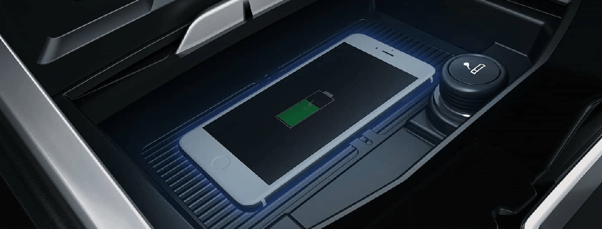 Hỗ trợ sạc không dây cho điện thoại trên xe Ford Terrytory 2021