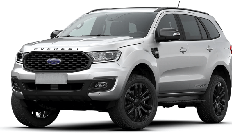 ford everest 4wd sport 2021 màu trắng