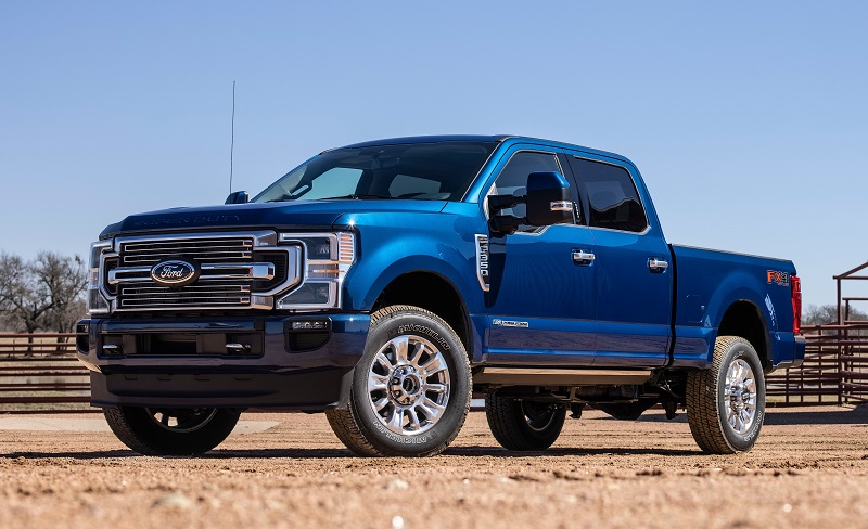 Ford F Series Supber Duty 2022 mới của ford